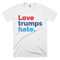 "Mens ""Love Trumps Hate"" T-Shirt"