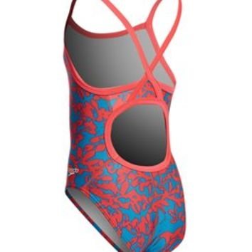 SPEEDO Pro LT Flowerista Flyback One Piece Swimsuit - Adult - Metro Swim Shop