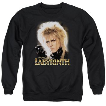 Labyrinth - Jareth Adult Crewneck Sweatshirt Officially Licensed Apparel