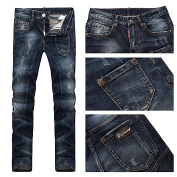 Men's Fashion Slim Stretch Men Jeans [6528464323]