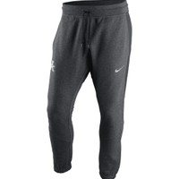 Nike Men's Kentucky Wildcats Charcoal Heather Hybrid Fleece Cuff Pants | DICK'S Sporting Goods