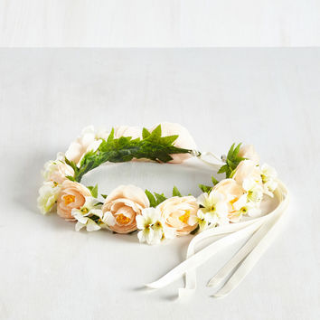 Garden Party Princess Flower Crown | Mod Retro Vintage Hair Accessories | ModCloth.com