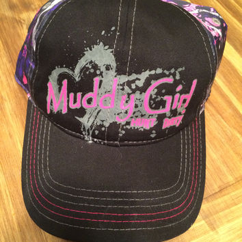 Muddy Girl Logo Hat