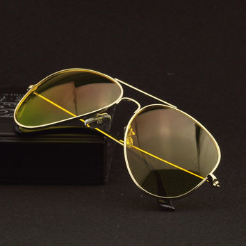 2016 Night Vision Driving Glasses Polarized Yellow driver Sunglasses for Men Women