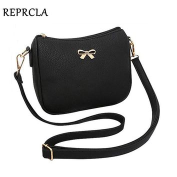 High Quality PU Leather Small Women Bags Bowknot Designer Women Messenger Bags Handbags Ladies Flap Shoulder Crossbody Bags