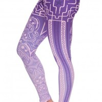 Printed Fashion Slim Fit Workout Legging