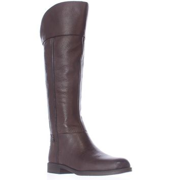 Franco Sarto Christine Riding Boots, Dark Java, 6.5 US / 36.5 EU