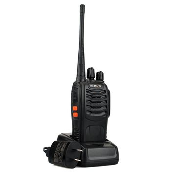 Retevis H-777 2 Way Radios UHF Radio 400-470MHz 16CH Walkie Talkies with Earpiece Belt Clip (20 Pack) and USB Programming Cable