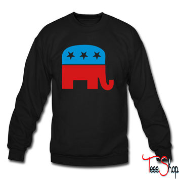 Republican Elephant crewneck sweatshirt