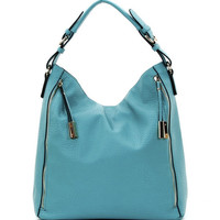 Side Zipper Hobo
