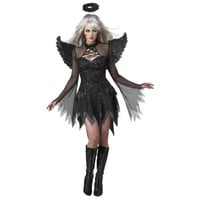 California Costumes Womens Fallen Angel Halloween Party Dress Costume