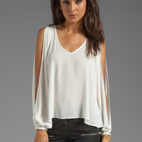 Lovers + Friends Day Dream Blouse in White from REVOLVEclothing.com
