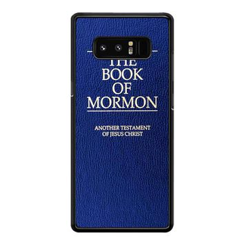 The Book Of Mormon Cover Book Samsung Galaxy Note 8 Case