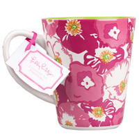 Lilly Pulitzer Cafe Lily Mug - Scarlet Begonia - Tabletop - Dwellings