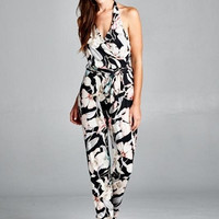 Reach For The Stars Tropical Jumpsuit