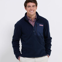 Men's Fleece and Outerwear: Fleece Mooring 1/4-Zip - Vineyard Vines