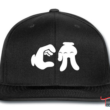 California Hand Sign Snapback