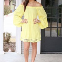 When in Rome Dress - Yellow