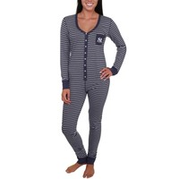 New York Yankees Ladies Navy Blue Yard Line Union Suit