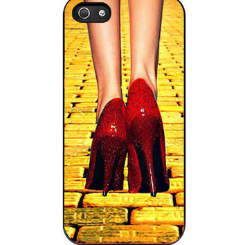 Yellow Brick Road Dorothy Wizard of Oz Inspired iPhone 5s For iPhone 5/5S Case