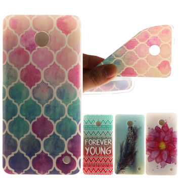 Butterfly Pattern Soft TPU Silicon sFor Nokia Lumia 630 case For Microsoft Nokia Lumia 630 635 N630 N635 Case Phone Cover