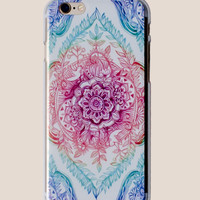 Rainbow Mandala iPhone Case