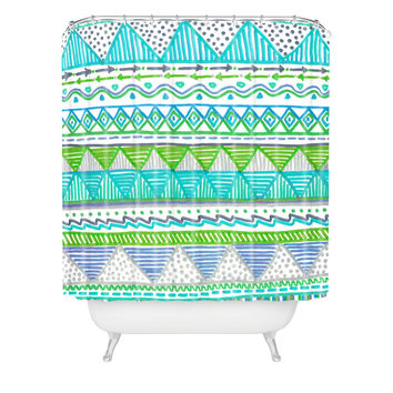 Lisa Argyropoulos Ocean T 1 Shower Curtain