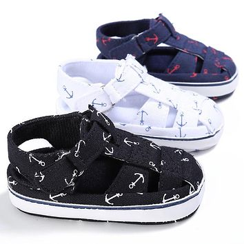 Summer Baby First Walkers Toddler Infant Kids Boys Shoes Casual Non-slip Shoes Prewalkers Baby Girl Boy 0-18M