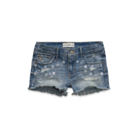 a&f low rise shorts