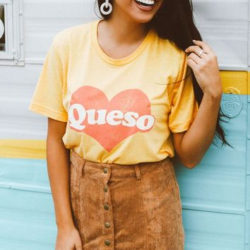 Friday + Saturday Queso Tee