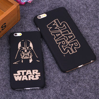 Star Wars Print matte PC case for iphone 6 6S 6 Plus 6S Plus Coque back protective Shell Cover