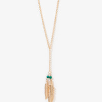 Dangling Feathers Necklace