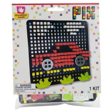 Car Pixel Art 3D Foam Craft Kit