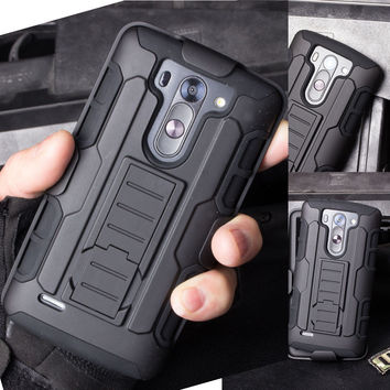 Case For LG G2 G3 G4 G5 Stylus Mini Nexus 5 K7 K10 G4 Pro V10 Cases Cover Belt Clip Stand Holster Hybrid Hard Cell Phone Cover