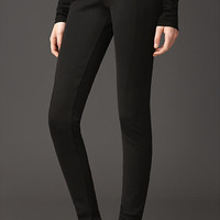 Curved Seam Corset-Jersey Leggings