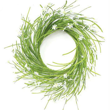 2 Aster Wreaths - Inside Use