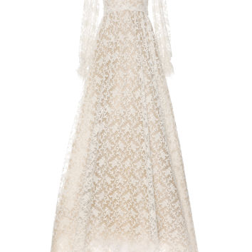 Tulle Lace Embroidered Dress