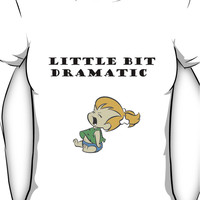 Little Bit Dramatic (Pebbles Flintstone) Women's T-Shirt