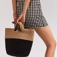 Stitched Cord Colorblocked Tote Bag | Urban Outfitters
