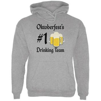 ESBGQ9 Oktoberfest Number 1 Drinking Team German Beer Mens Hoodie
