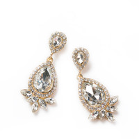 Georgina Crystal Dangle Earrings