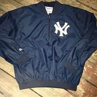 New York Yankees Majestic Zip Pullover