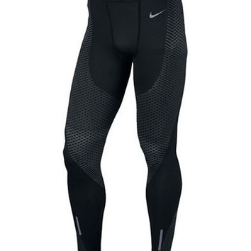 Nike Mens Zonal Strength Compression Running Leggings
