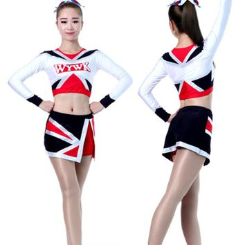 5Sets Cheerleader Uniform Performance Outfit(100 styles XS-6XL)(Custom)