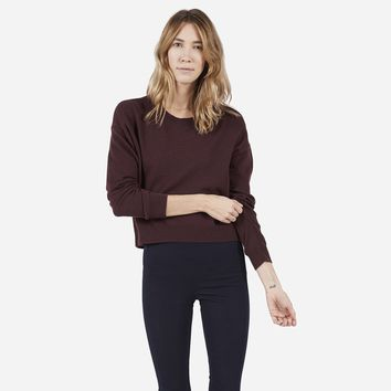 Everlane | The Cashmere Cropped Crew – Everlane