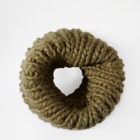ASOS Chunky Hand Knit Funnel Infinity scarf