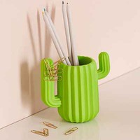Mustard Gifts Cactus Cup Desk Organizer - Urban Outfitters