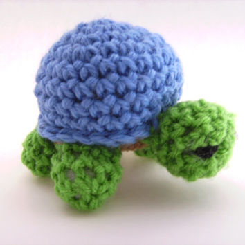 Crochet Amigurumi Turtle Plush Toy