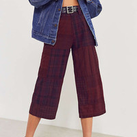BDG Anna Patchwork Cropped Pant   Urban Outfitters