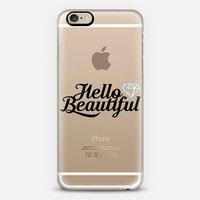 Hello Beautiful iPhone 6s case by Noonday Design | Casetify